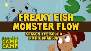 Camp camp soundtrack: Freaky Fish Monster Flow - Richie Branson | Rooster Teeth