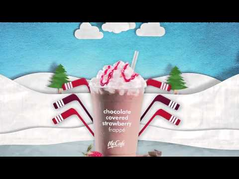 McDonald's Chocolate Covered Strawberry Frappé