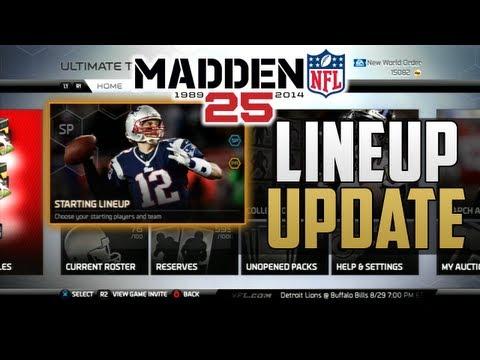 Madden 25 Ultimate Team - Lineup Update #1 | 99 Short Pass Chemistry