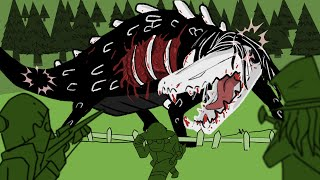The Hunt for Hard-to-Destroy Reptile | SCP-682 (SCP Animation)