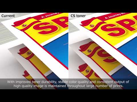 Canon's Consistently Stable (CS) Toner Technology
