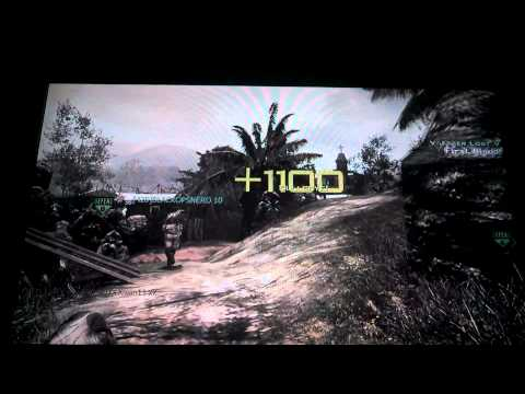 OMG Across Map Throwing Knife on Mw3/Village!!!