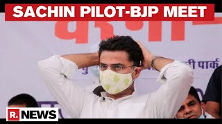 Sachin Pilot Meets Top BJP leader, Inside Details Accessed