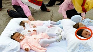 8 Безумных традиций со всего мира. Что-что они делают с детьми?!