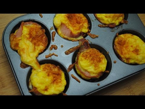 BACON EGG BREAKFAST CUPS - Student Recipe
