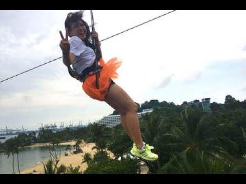 MegaZip Adventure at Sentosa Island Singapore