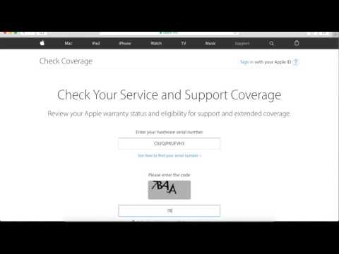 Check apple product coverage
