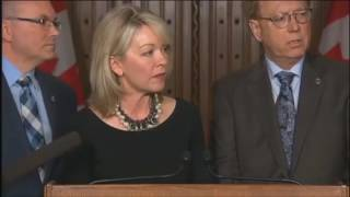 The Honourable Candice Bergen and Some NDP Dink Question Our Prime Minister