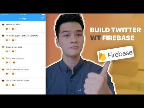 FIREBASE iOS TUTORIAL - BUILD TWITTER USING FIREBASE