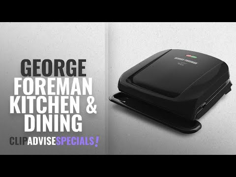 10 Best Selling George Foreman Kitchen & Dining [2018 ]: George Foreman 4-Serving Removable Plate