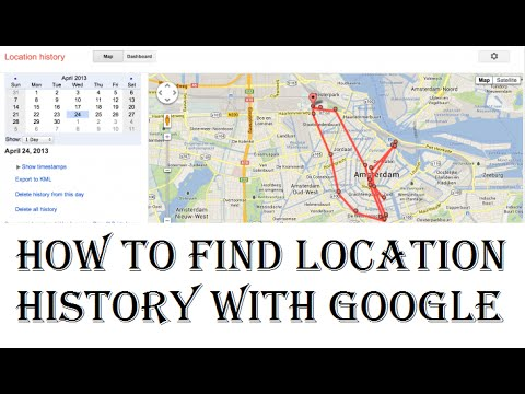 how to find location history with google | Tracking location history