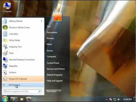 How to Completely Uninstall Power CD G Burner