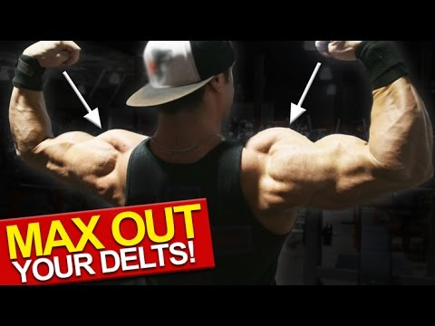 Gain Muscle Workout for Shoulders (MUSCLE FIBER TYPE TRAINING!)