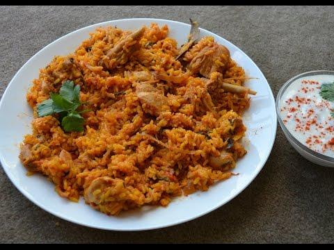 Chicken Biryani/Biriyani - Ambur Style (in Tamil with English Subtitles)