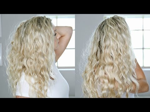 No Heat Summer Beach Waves w/ Consistent Curl