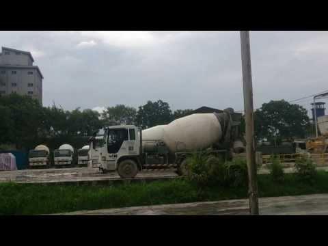 Mixer Truck Barrel Wash