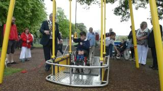 New wheelchair swing in Victoria Park