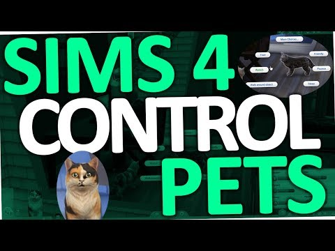 Sims 4 Cats and Dogs - Can't control Pets (How to | Mod | Fix)