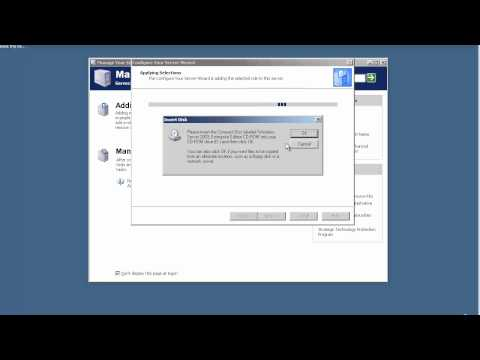 Installing Active Directory and DNS  in Windows Server 2003