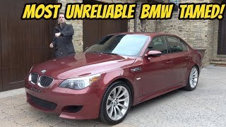 My Cheap BMW M5 Is FINALLY FINISHED (Thanks to a Wire Hanger???)