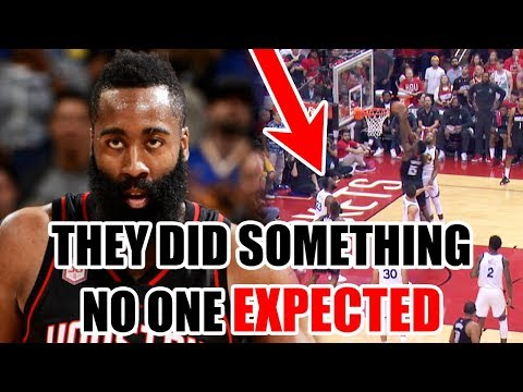 What The Rockets Did That NO ONE Expected In The NBA Playoffs