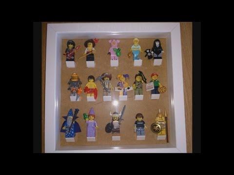 Ikea Ribba Lego Minifigure Display Case