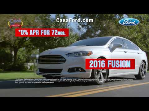 Casa Ford Free Ride Sales Event