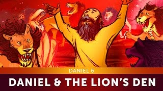 Daniel and the Lion's Den Bible Story - Daniel 6 | Sunday School Lesson for Kids | HD | Sharefaith