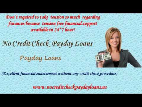 Attain Cash Support Without Check Previous Credit Record