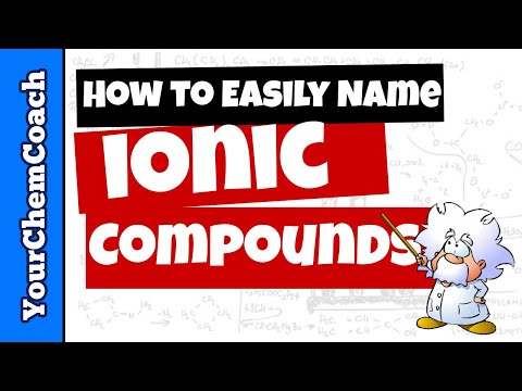 How to Easily Name Ionic Compounds