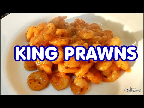 King Prawns With Sweet Chilli Sauce | Recipes By Chef Ricardo