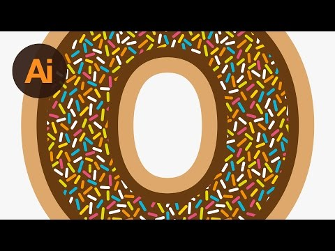 Learn How to Create a Doughnut Text Effect in Adobe Illustrator | Dansky