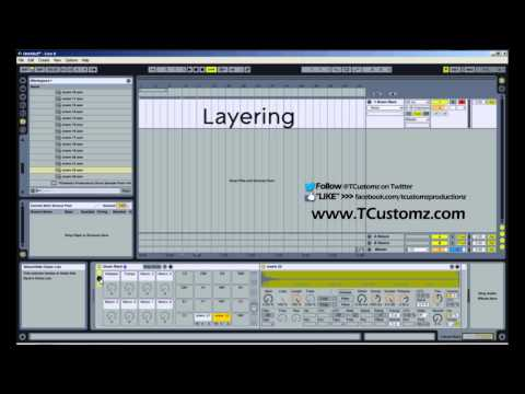 How To Layer Drum Samples w/ Ableton Live Drum Racks - Beat Making Tutorial, Hip Hop Drums, MPD32