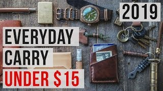 5 BEST EDC EVERYDAY CARRY Under $15 - Gear - Items - Gadgets - Accessories ◈ 2019 ◈