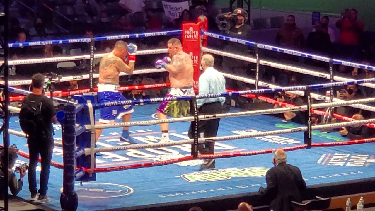 Andy Ruiz VS Chris Arreola Final Round and Decision
