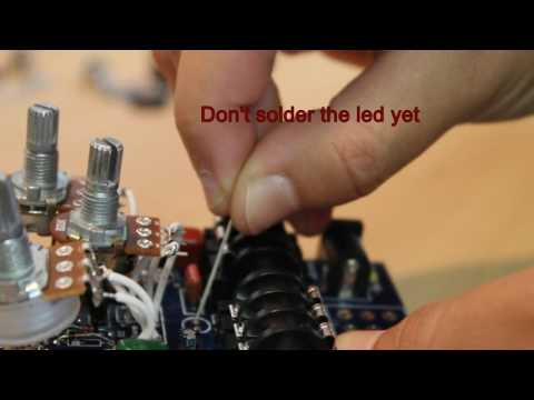 How to build a DIY Effect Pedal kit