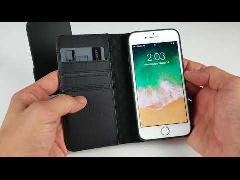 iPhone 7/8 Plus Premium Wallet Case Review (ZOVER)