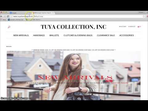 Copy and Paste a Website address into the address bar