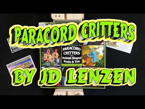 Paracord Critters Book Review!!
