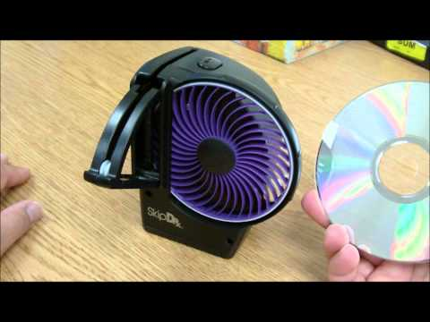 How to use SkipDr Disc Repair + Cleaning System