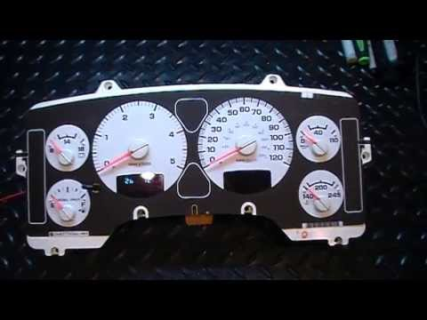 2006 Dodge Ram Truck Tachometer / RPM Gauge Problems - Bench Test
