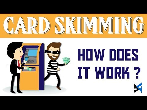 ATM Card Skimming - How does Credit Card Skimming Works?