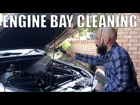 How to Clean your 4x4's Engine Bay