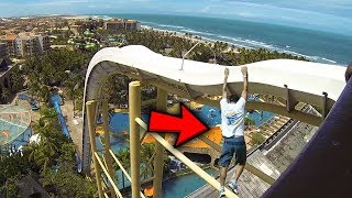 5 PEOPLE WHO FELL OFF WATERSLIDES!