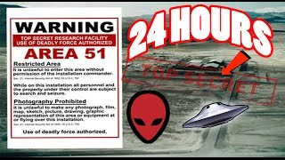 (ALMOST DIED) 24 HOUR OVERNIGHT in AREA 51 GONE WRONG | OVERNIGHT CHALLENGE in AREA 51 (GUARD CHASE)