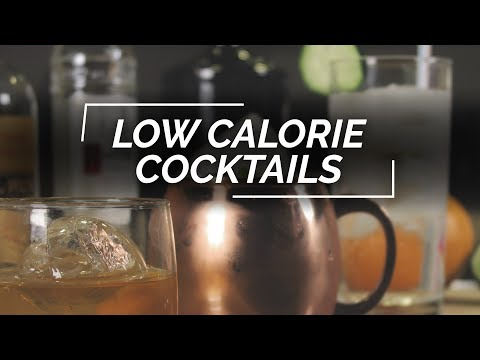 3 Low Calorie Cocktail Recipes | Adapted Classic Cocktails