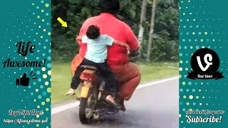 Try Not To Laugh - Don't make fun of your child, or you will have to suffer the consequences