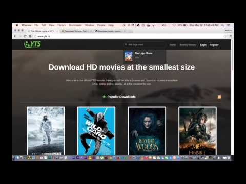 How to Download Movies for FREE on your Laptop or Desktop Computer in HD! Updated 2015