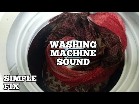 Washing Machine Sounds Like A Train-Why Does My Washing Machine Make Such A Noise-Simple Fix-Diy