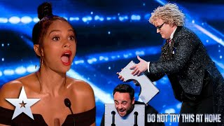 The hilariously magical Niels Harder!   Unforgettable Audition   Britain's Got Talent